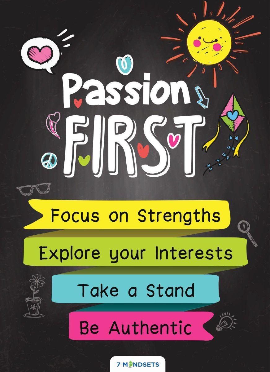 Mindset for the month of October: PASSION FIRST