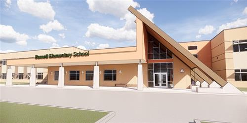 Barnett Elementary School Graphic
