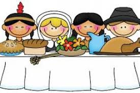 Kinder and 3rd Grade: Thanksgiving Feast November 21st