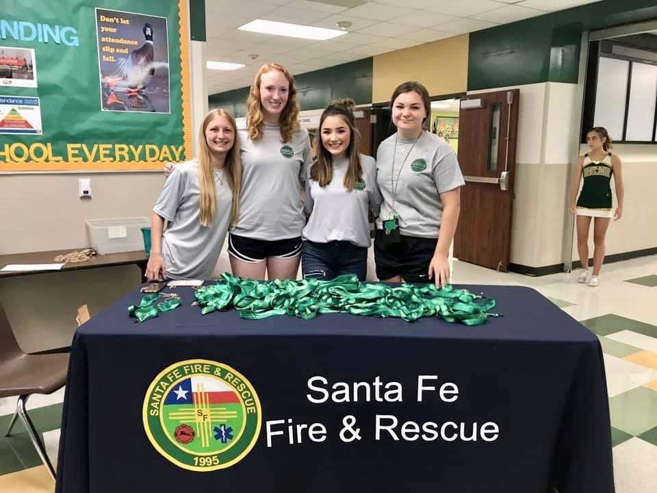 SFHS Fire Safety Club assists SFJH