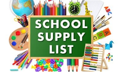 2018-2019 Kubacak Elementary School Supply Lists