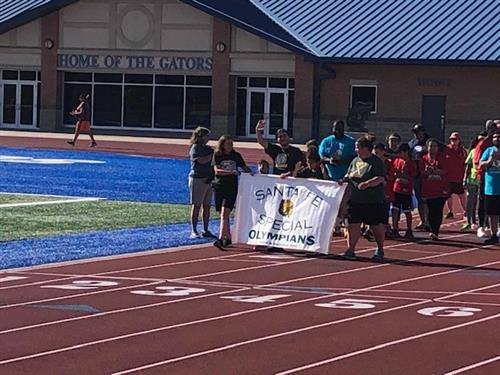 Special Olympians Compete in Area Games