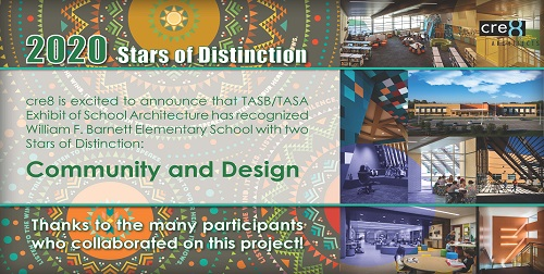 Barnett ES Wins Stars of Distinction @ TASB/TASA Convention